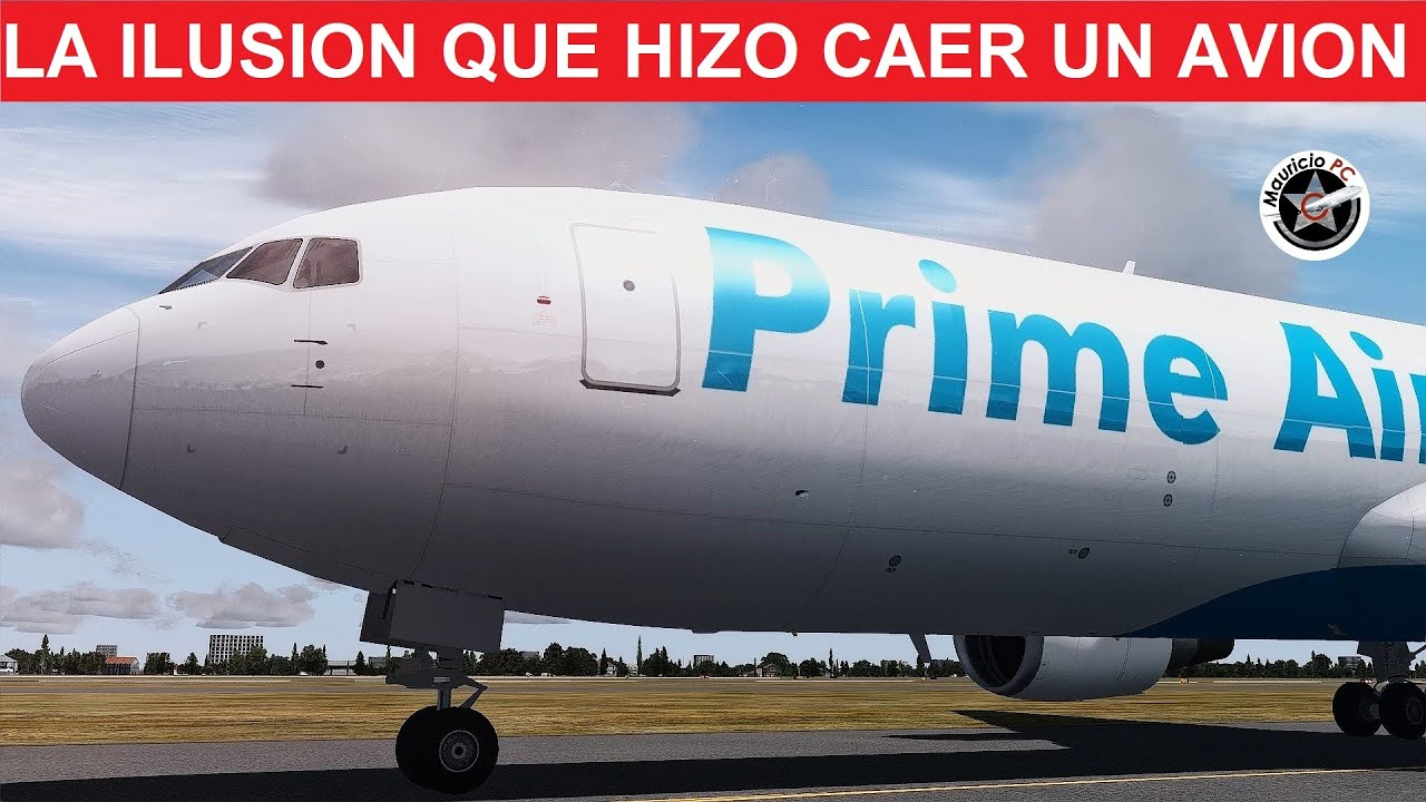 La ilusión que engañó a un piloto - Atlas Air (Amazon Prime Air) 3591