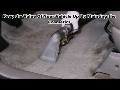 How to clean a car carpet professionally