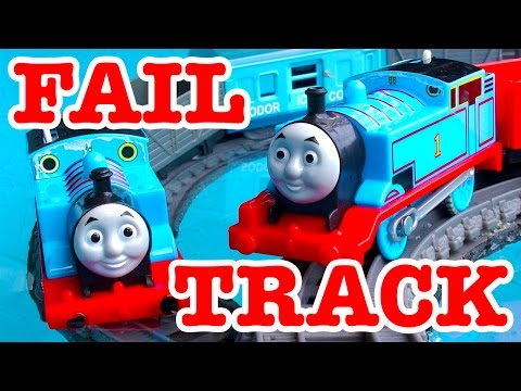 Thomas The Tank Pool Tracks Fail 2mm That Sunk My Amazing Idea