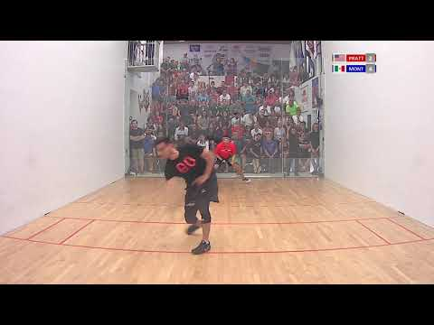 2018 World Championships - Men\'s Singles Final - Pratt USA vs Montoya MEX