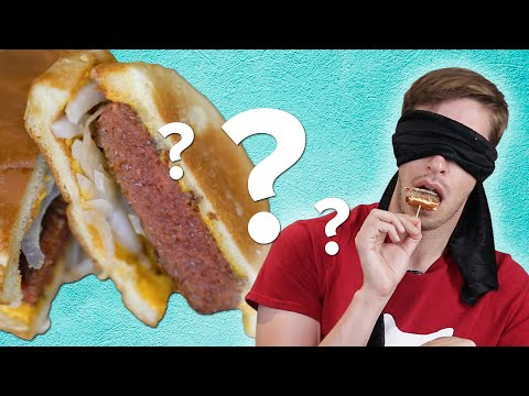 Thumbnail: Blindfolded Meatlovers Guess Vegan Foods