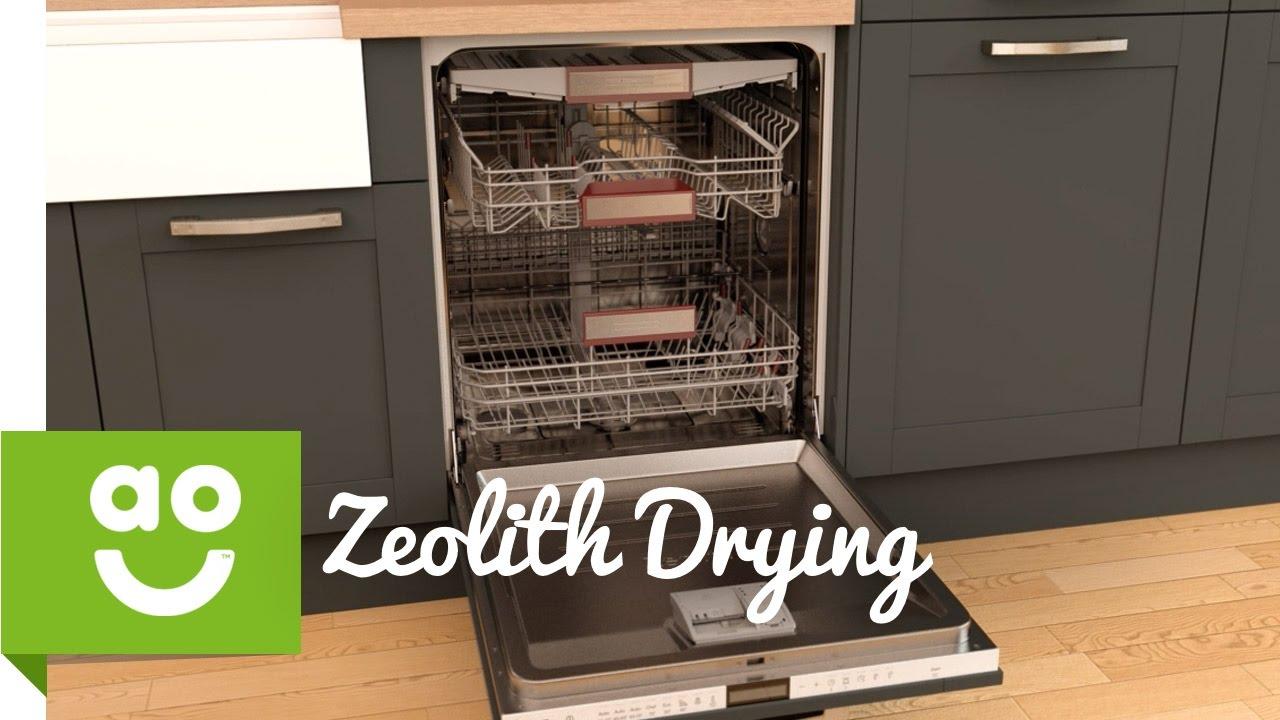 Neff Zeolith Drying   Dishwashers   Ao.com   YouTube