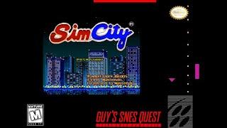 Guy's SNES Quest: 0006 - Sim City