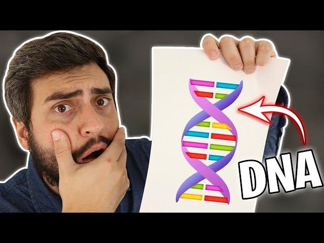 FIZ UM TESTE DE DNA E O RESULTADO ME PEGOU DE SURPRESA !!! ( EXPERIMENTO )