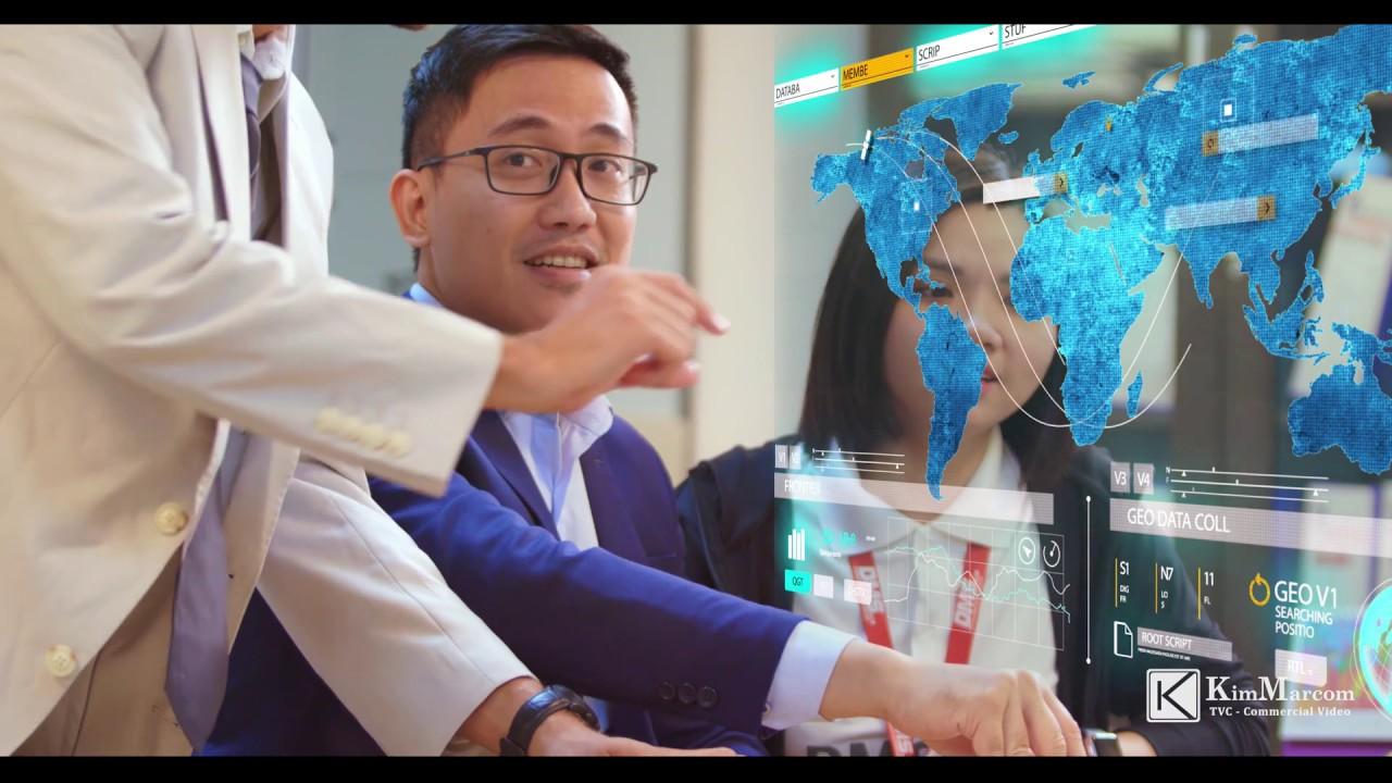 Phim tự giới thiệu doanh nghiệp công nghệ DMSpro Làm phim quảng cáo TVC Phim doanh nghiệp KimMarcom.
