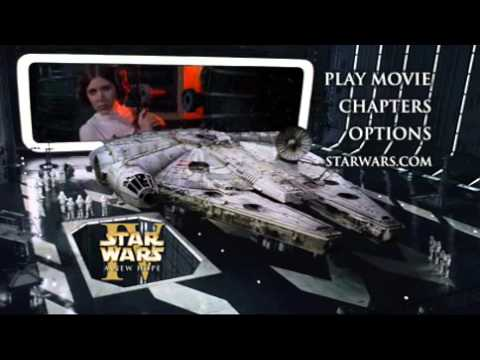 Star Wars Episode Iv A New Hope Dvd Menu 2 Youtube