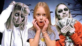 Бедная Зомби против Богатой! Почему они поселились в доме у Амельки?