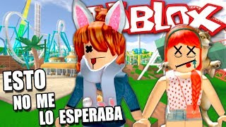 A SAFE DEATH IN THE ATTRACTION PARK... (with Mel) Roblox in Spanish