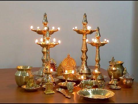 Steps to Clean Pooja Vessels