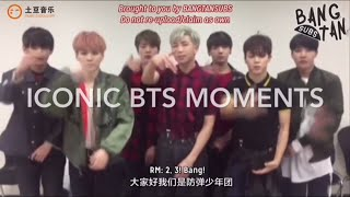 iconic BTS moments (ENG SUBS & LINKS)