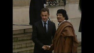 Sarkozy, imputado por financiar con dinero libio su campaña