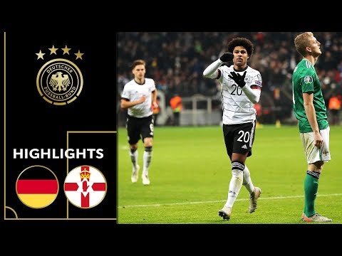 Hattrick! Serge Gnabry On Fire   Germany Vs. Northern Ireland 6-1   Highlights   Euro Qualifiers