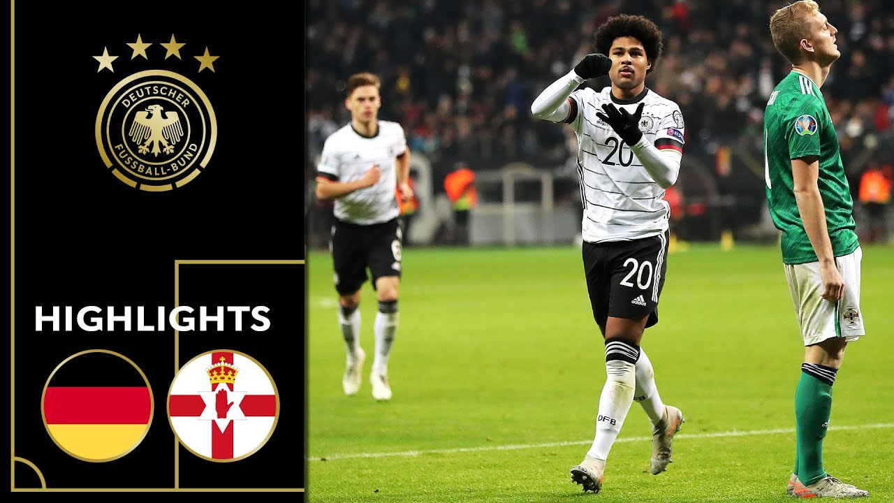 Hattrick! Serge Gnabry on fire | Germany vs. Northern Ireland 6-1 | Highlights | Euro Qualifiers