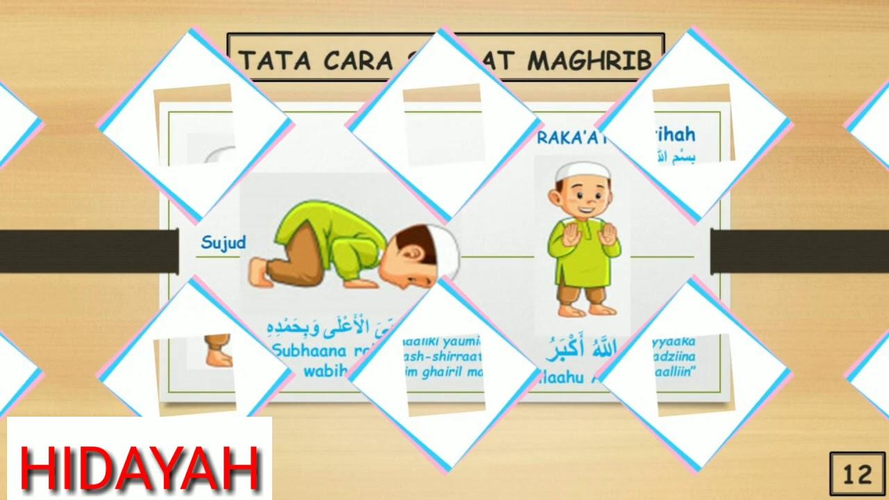 Tata cara Sholat Maghrib Lengkap Dengan Arab, Latin dan ...