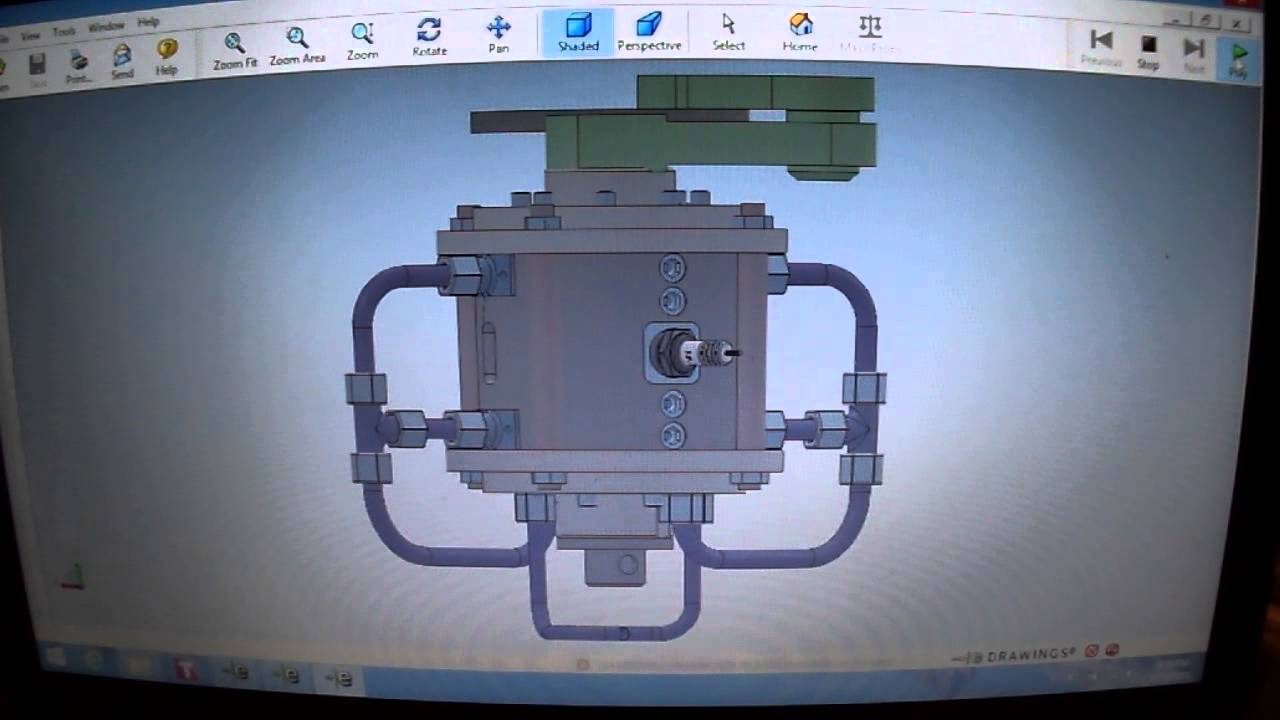 Kamenov Rotary Internal Combustion Engine Cad 3d Drawings