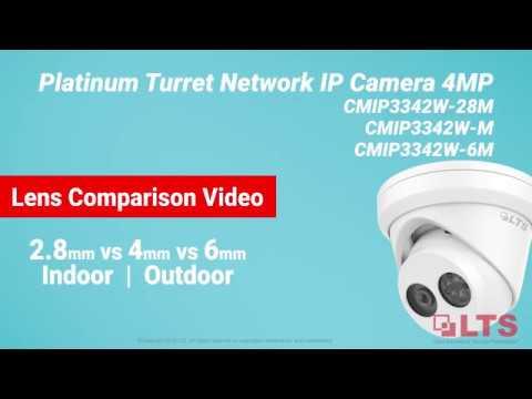 2.8mm v 4mm v 6mm Lens Comparison Video w/ LTS IP Cameras