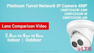 LTS Platinum, Comparison Video - 2.8mm V 4mm V 6mm Lens Comparison Video W/ LTS IP Cameras