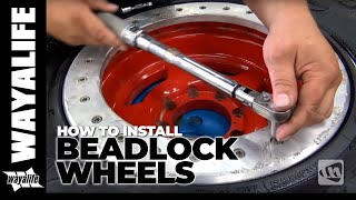 How to Install ATX Slab Bead Lock Wheels with Off Road Evolution : JEEP TECH