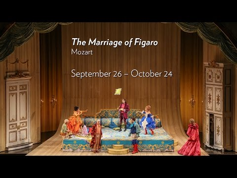 Mozart's THE MARRIAGE OF FIGARO at Lyric Opera of Chicago September 26 through October 24