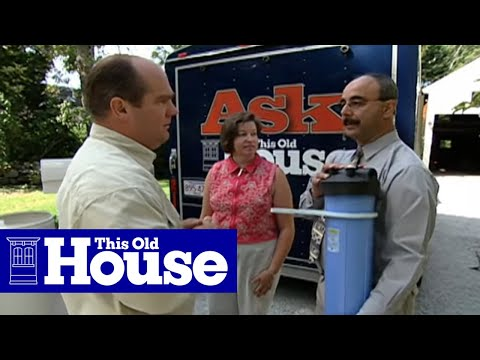 How To Test For Hard Water And Add Softeners | This Old House