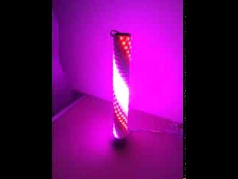 kundenreverenz einer lichts ule mit unserem rgb lauflicht. Black Bedroom Furniture Sets. Home Design Ideas
