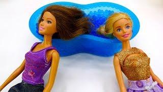 Барби и Тереза в салоне красоты. Приключения Барби - Мультики для девочек