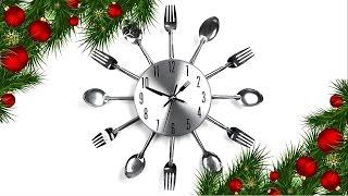 видео Часы на кухню своими руками