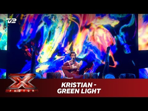 Kristian synger 'Green Light' - Lorde (Live) | X Factor 2019 | TV 2