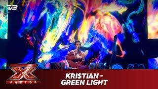 Kristian synger 'Green Light' - Lorde (Live)   X Factor 2019   TV 2
