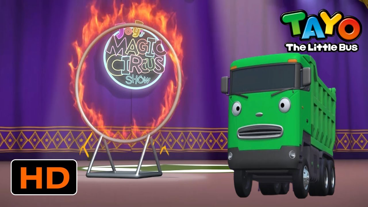 Tayo English Episodes l Strong Heavy Vehicles' Magic Circus Show l Tayo Episode Club