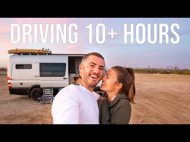 10+ Hours Driving Our CAMPER VAN 550 Miles Through BAJA MEXICO Episode 53