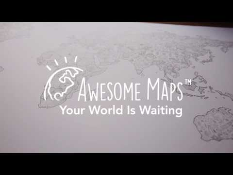 Coloring Map | Awesome Maps