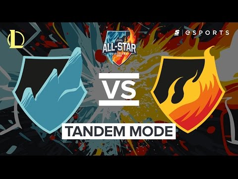 Highlights: Team Ice vs Team Fire Tandem Mode (All-Stars Barcelona 2016)