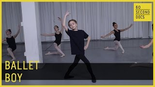 Boy Ballet Dancer | Philadelphia Dance Center // 60 Second Docs
