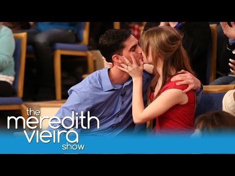 An EPIC On Air Proposal!   The Meredith Vieira Show