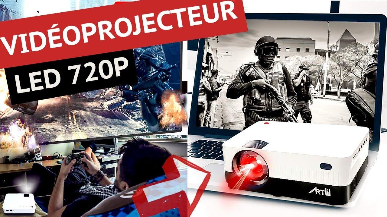 artlii h3 test du nouveau videoprojecteur led 720p a petit prix