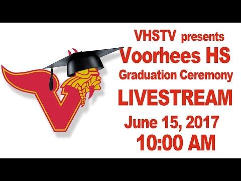 Voorhees High School Graduation Ceremony 2017