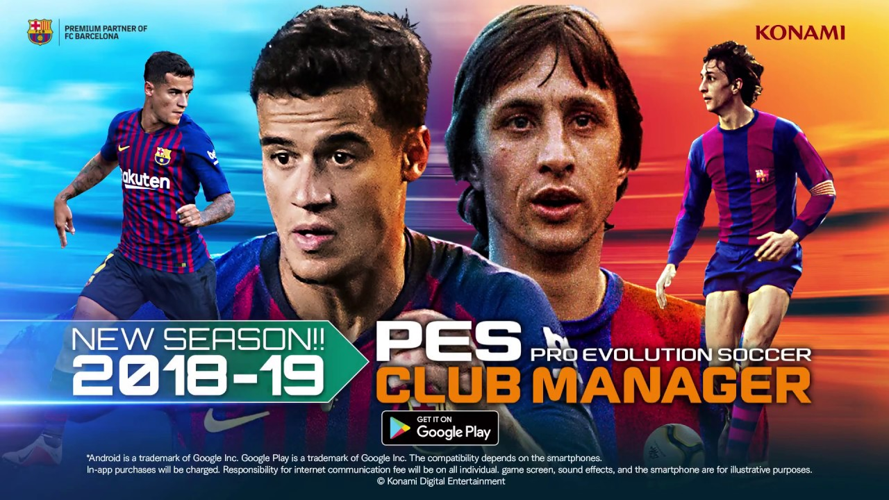 Download PES Club Manager Apk + Mod v2 2 0 Hack for Android