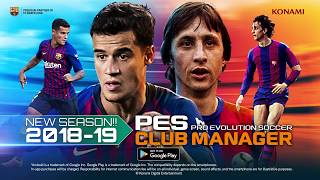 PES CLUB MANAGER (2018/19 Season update…