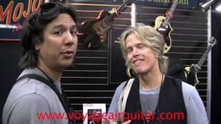 Brian Ray, Voyage Air Guitars - folding guitars - NAMM 2011