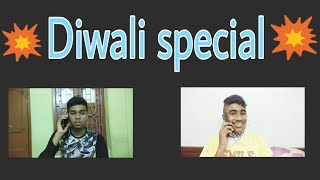 In every group has a friend who act like this in Diwali //Happy Diwali