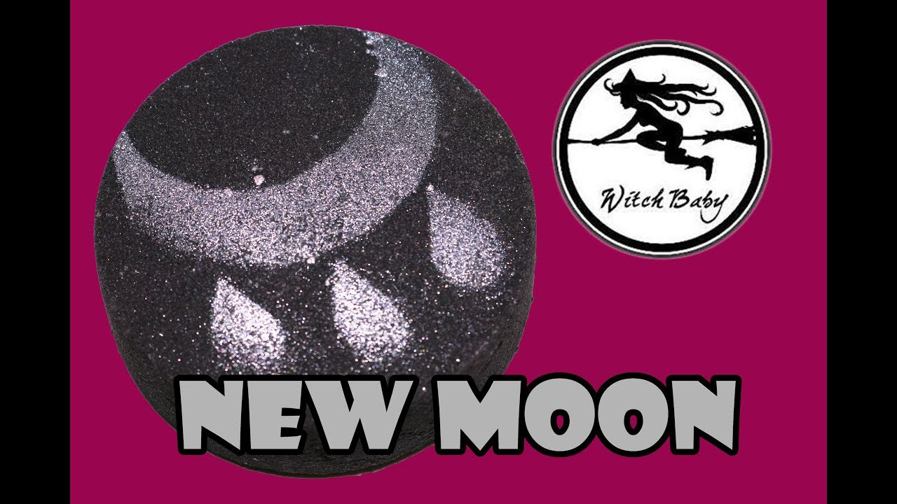 Witch Baby Soap - NEW MOON 🌑 Bath Bomb Demo & Review Underwater View