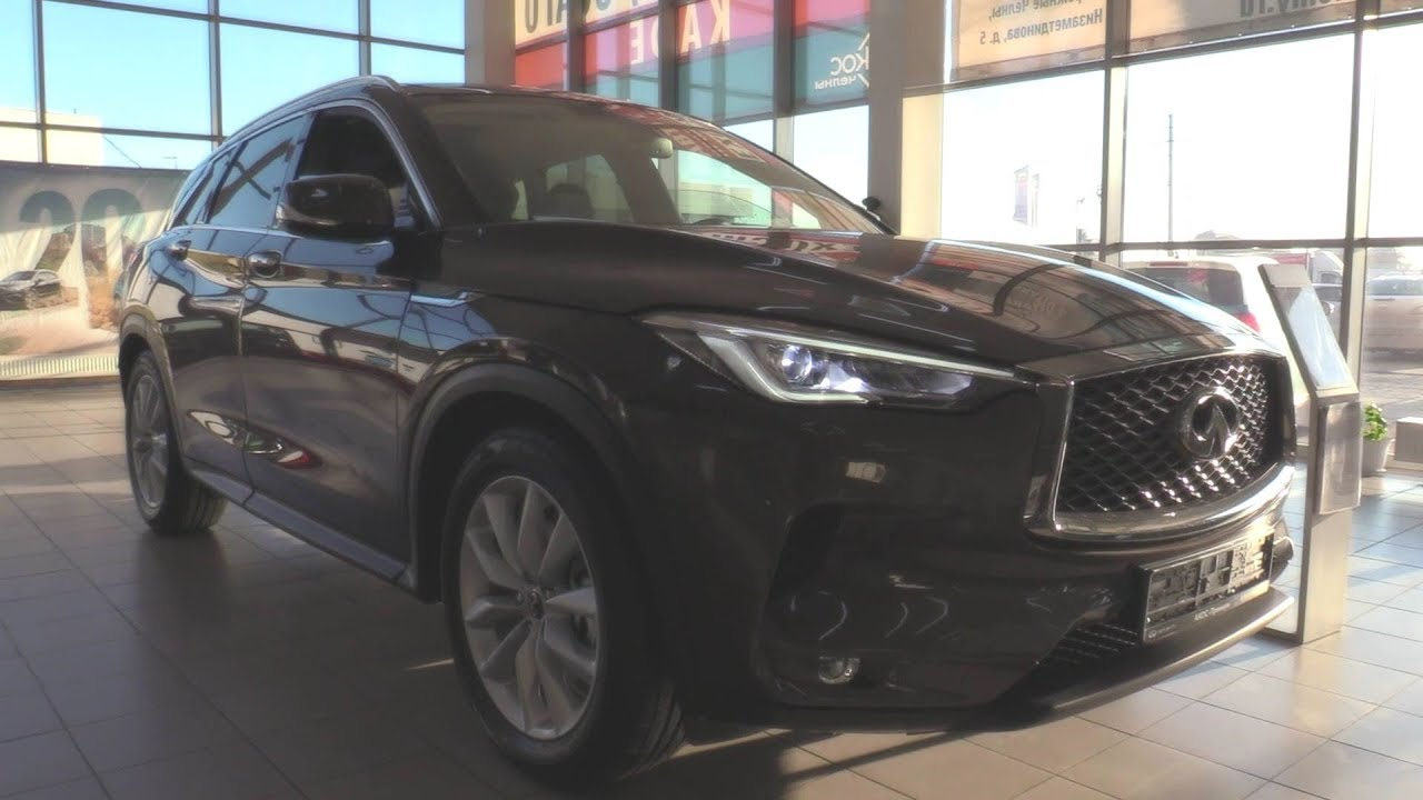 2018 INFINITI QX50 2.0 CVT 4WD. In Depth Tour.