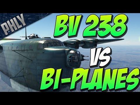 WAR THUNDERS BIGGEST PLANE Vs Smallest PLANES!  (War Thunder Gameplay)