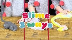 THREE ways to make slime in minutes - BBC Good Food Kids