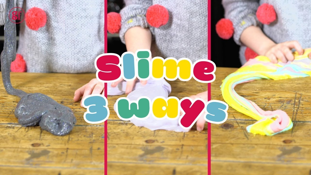 Three ways to make slime in minutes bbc good food kids youtube three ways to make slime in minutes bbc good food kids ccuart Image collections