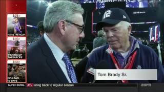 Super Bowl 51   What Roger Goodell tells Tom Brady After Patriots Won