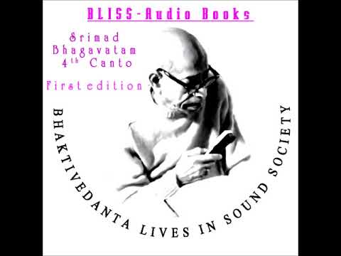 Srimad Bhagavatam 4th Canto chapters 1 TO 21 first Printing