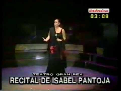 Isabel Pantoja en Argentina 2000 ''Cinco farolas''