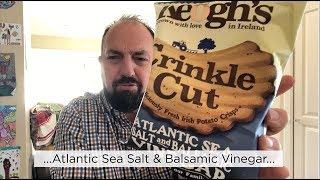 Keogh's Atlantic Sea Salt & Balsamic Vinegar Potato Chips Review